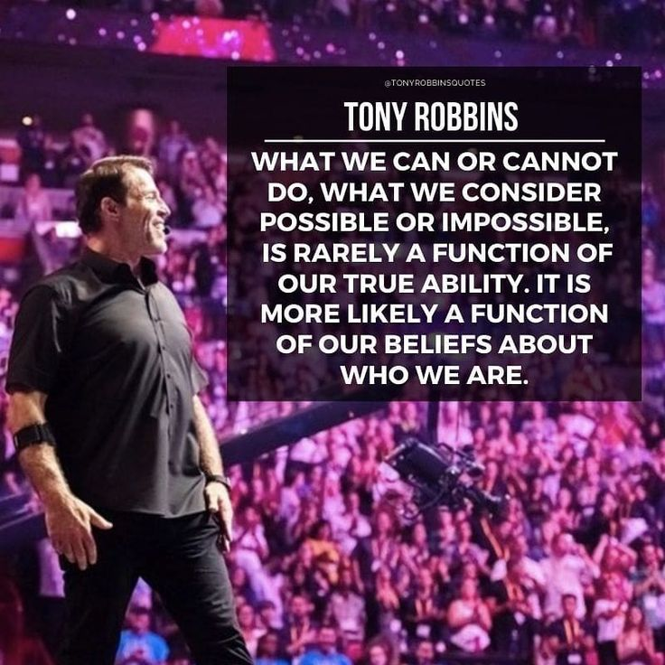 Instagram post by Tony Robbins Quotes • Nov 20, 2019 at 6