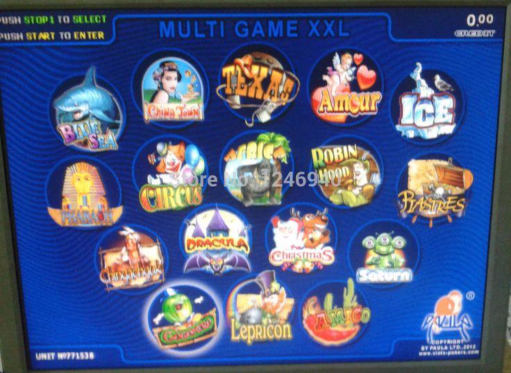 Высокое качество мульти XXL pcb ( 17 в 1 году ) / мульти игры азартные игры совет по