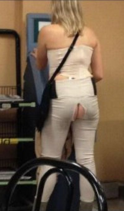 Half Off Ripped Pants Sale at Walmart - Funny Pictures at Walmart