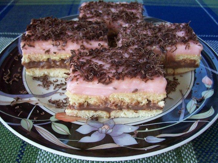 Puncsos keksz szelet - mit is mondjak: isteni finom süti! - Finom ételek, olcsó receptek