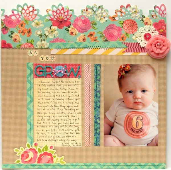 love the top of the page! soo pretty