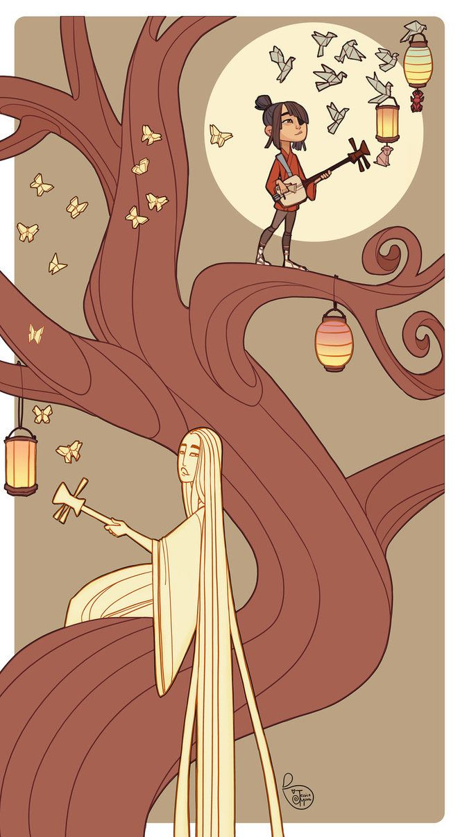 Kubo and the Two String Challenge Entry by MeoMai
