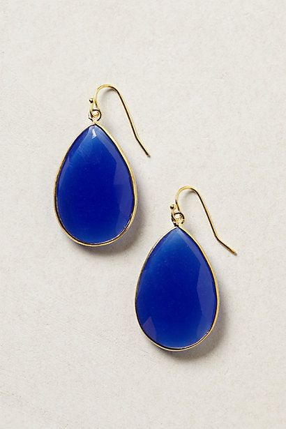Gold Rung Earrings #anthropologie.  They gray ones.