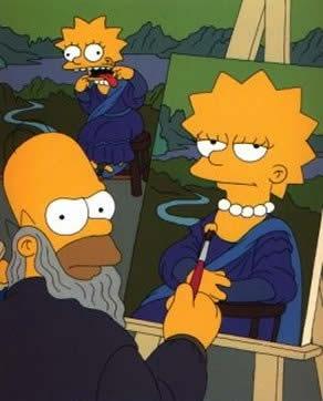 Mona Lisa: Simpsons