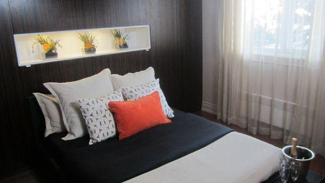 Habillage de fen tre de la chambre coucher de billy for Chambre marilou design vip