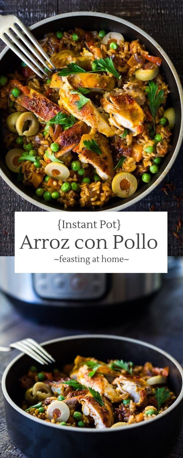 Instant Pot Arroz Con Pollo