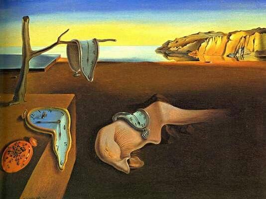Salvador Dali-> Persistenta memoriei