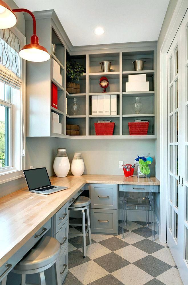 Home Office Ideas Small Space Shelves Home Office Ideas For Two Home Office In Kitchen Home Office Ide Home Office Layouts Small Room Design Home Office Design