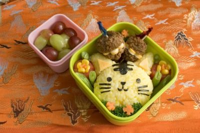 Feline: Tigers Bento, Bento Idea, Bento Lunches, Cats Bento, Bento Boxes, Easy Bento, Lunches Idea, Lunches Boxes, Boxes Lunches