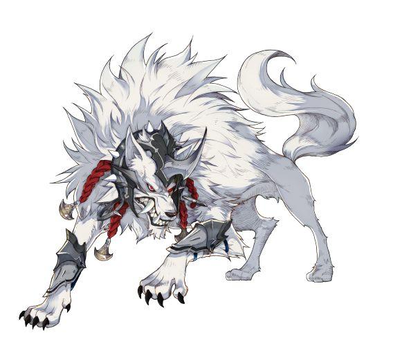★5白狼の画像