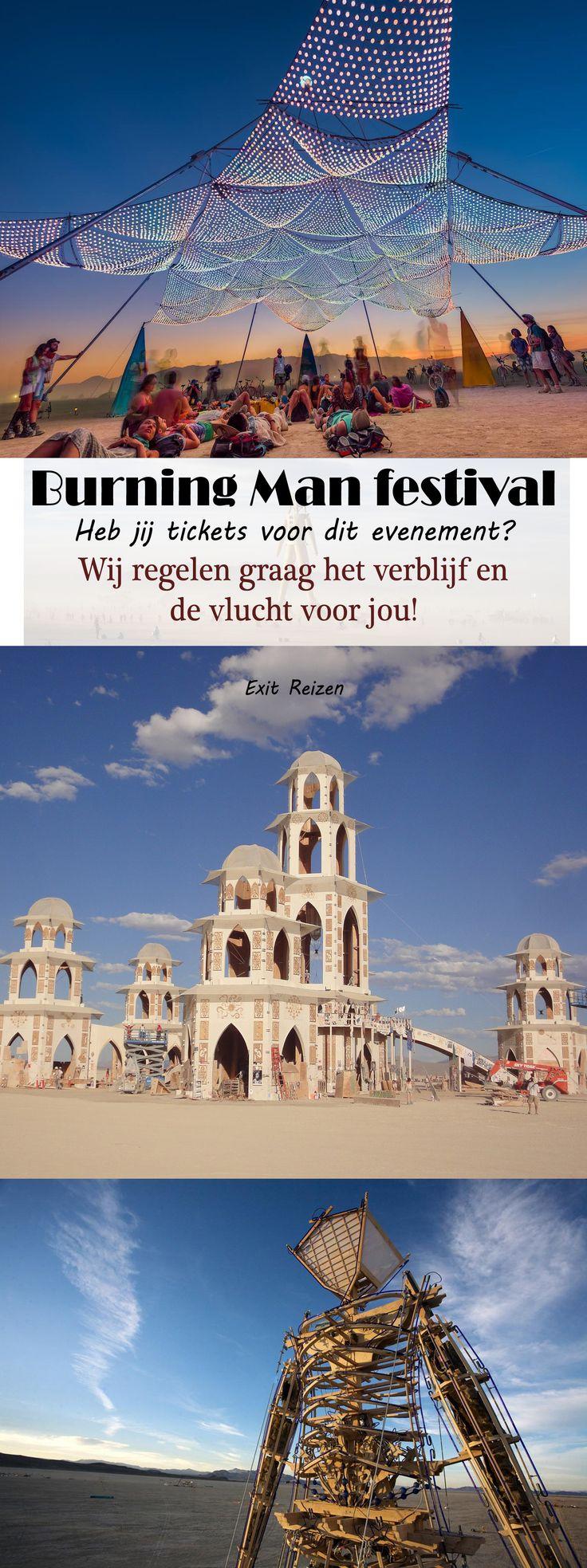 Wij helpen jou graag op weg naar evenementen in Amerika! van plan naar het festival Burning Man te gaan? Wij regelen graag jou vlucht en verblijf! #burning #man #burningman #event #festival #evenement #travel #reizen #reis #events #usa #amerika