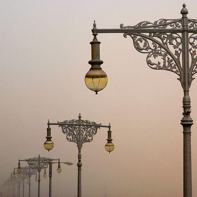 Regency Lamp Posts, Brighton, England
