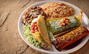 Groupon - Upscale Mexican Meal for Two or Four at San Gabriel Mexican Cafe (Up to 63% Off) in Bannockburn. Groupon deal price: $35.00