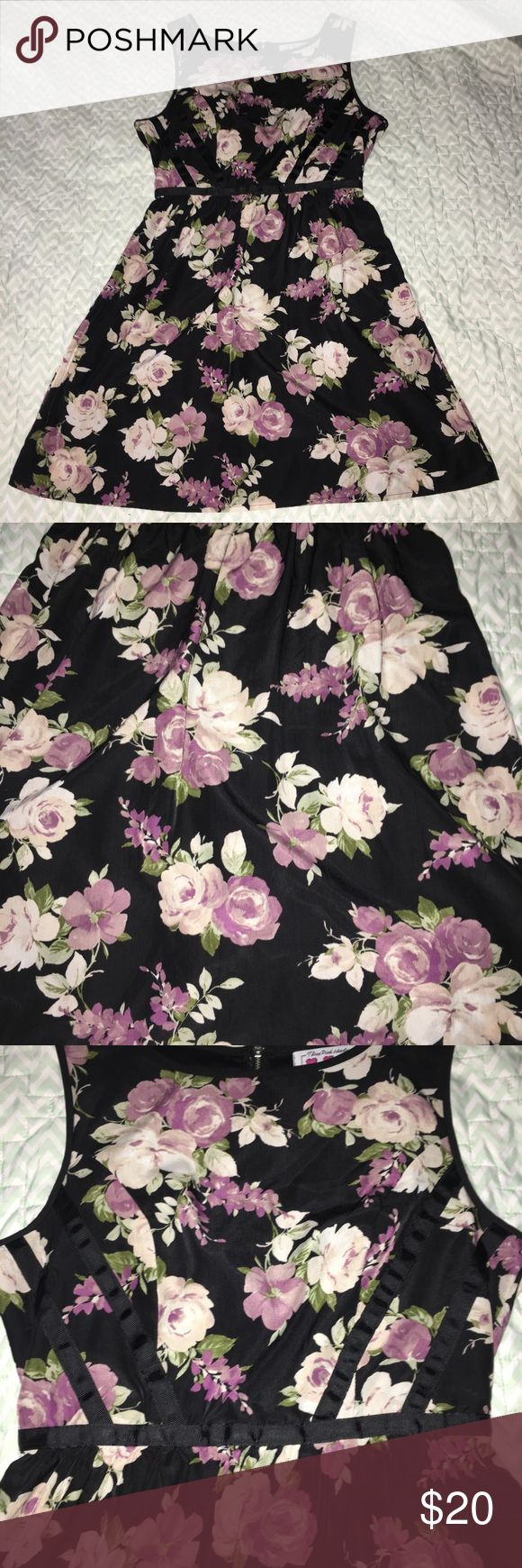 Three Pink Hearts Floral Dress - Size 7 25% off 7+items   PRICE is negotiable, unless otherwise stated.   Details: super cute eye catching dress. Full zipper back, unique back strap design down front boat neck Tank style. Very cute sundress double layer  ••COLOR: black/PINK  Size: 7  Brand: Three Pink Hearts   Condition: Like New   #CksOverload #ShopNow #Share #Follow #ISO #InstaShop #ForSale #NOTRADE #LookingFor  ••I do NOT TRADE••  Used items may contain piling &/or signs of wash and wear…