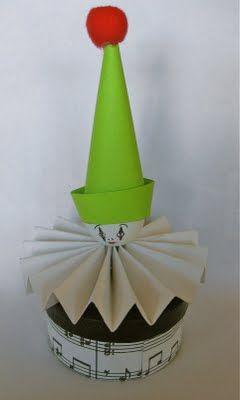 not sure if already have this one...but just in case...cute paper craft clown box