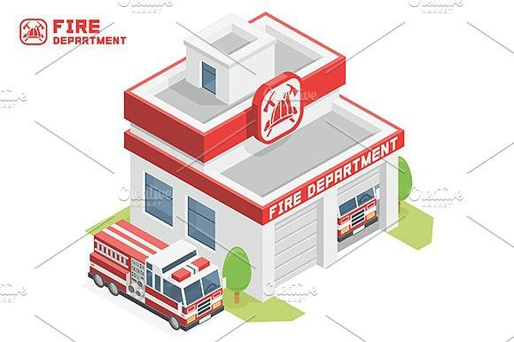 Fire Department building #station