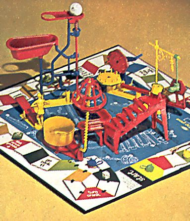 Mousetrap-My dad and my uncle couldn't put it together Christmas Eve night.....