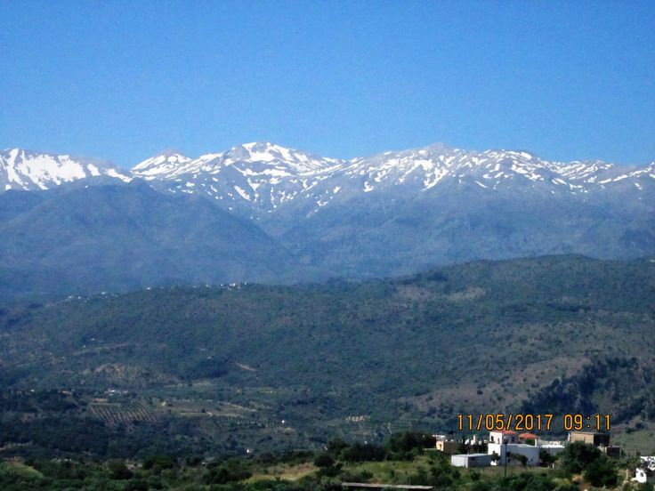 The White Mountains in Western Crete