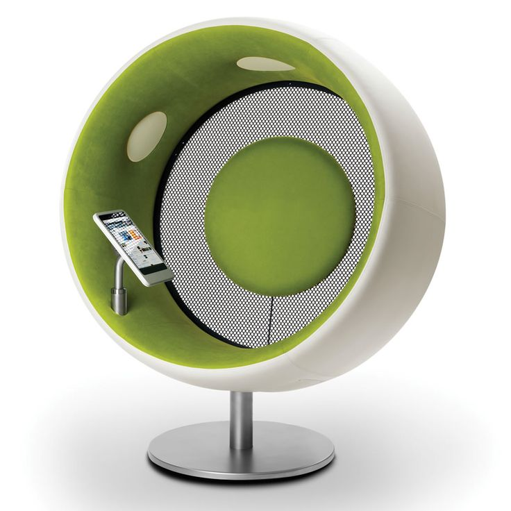 This is the acoustically optimized pod that creates an immersive audio experience that is not only heard but also felt.