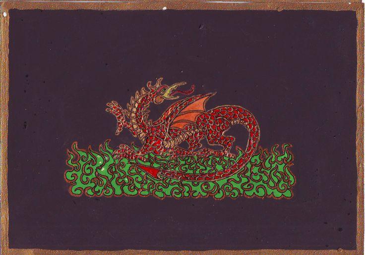 Vörös sárkány, 2007 tavaszán , egy alkimiával kapcsolatos álom nspirálta