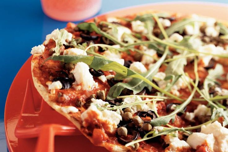 Kijk wat een lekker recept ik heb gevonden op Allerhande! Tortilla-pizza Napoletana