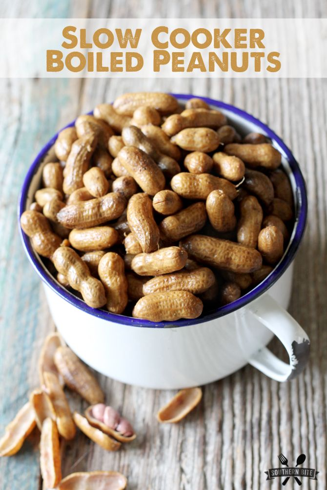 Using a slow cooker makes these boiled peanuts even easier! Super simple recipe that is sure to impress.