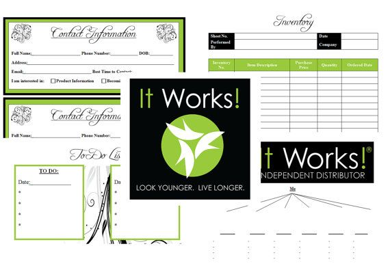 It Works Global Independent Distributor Planner.   Thinking of becoming a distributor ?? Contact me !(: i want to help you change your life.  www.getyourdream.myitworks.com