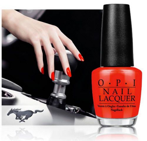 OPI and Ford collaborate on Ford Mustang nail lacquers