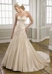 Online Shop 2014 new design Champagne Bridal Wedding Dress/wedding gown|Aliexpress Mobile
