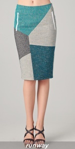 Rag and Bone Slash Patchwork Skirt