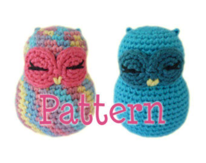 Crochet Amigurumi Owl Pattern