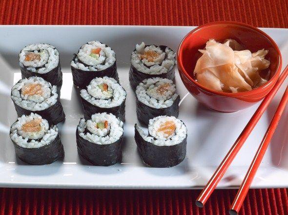 Appetizers: norimaki/norimaki eli sushirullat