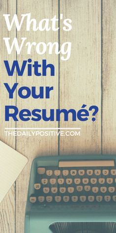 The average adult has a 7 second attention span, which means they don't take much time to form their initial opinion of your resume. Are you making sure it's the best it can be, for those 7 seconds?