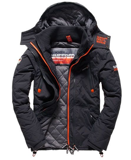 Superdry Quilted Hooded Arctic Wind Yachter Jacket