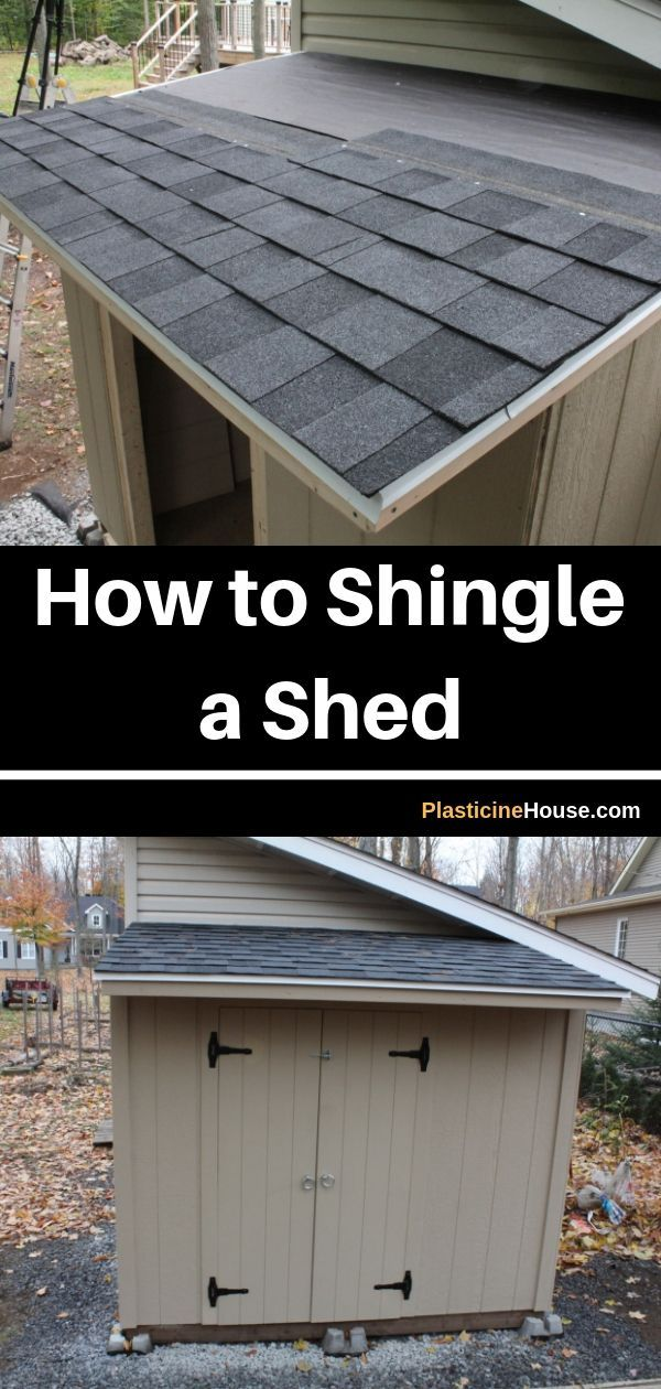 How To Shingle A Shed With 3 Tab And Architectural Shingles Installing Roof Shingles Architectural Shingles Installing Shingles