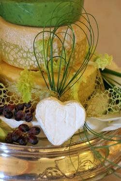 Cheese Wedding Cakes >Information >Caws Cenarth >Caws Cenarth