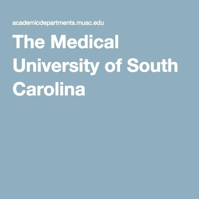 The Medical University of South Carolina #1