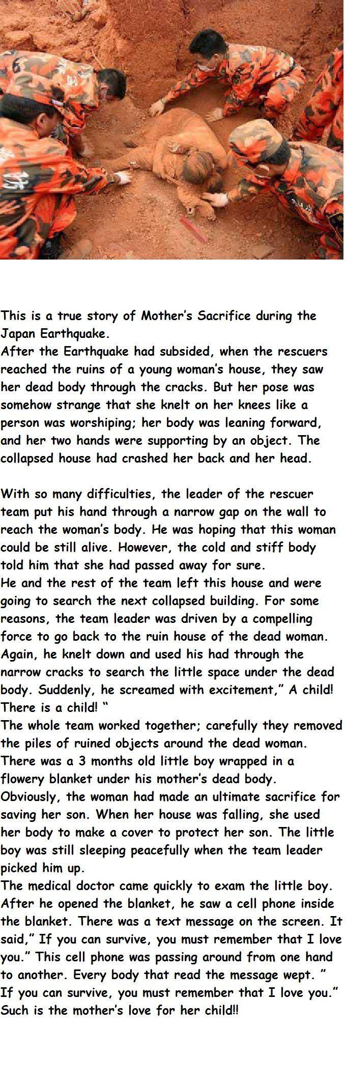 a mothers sacrifice