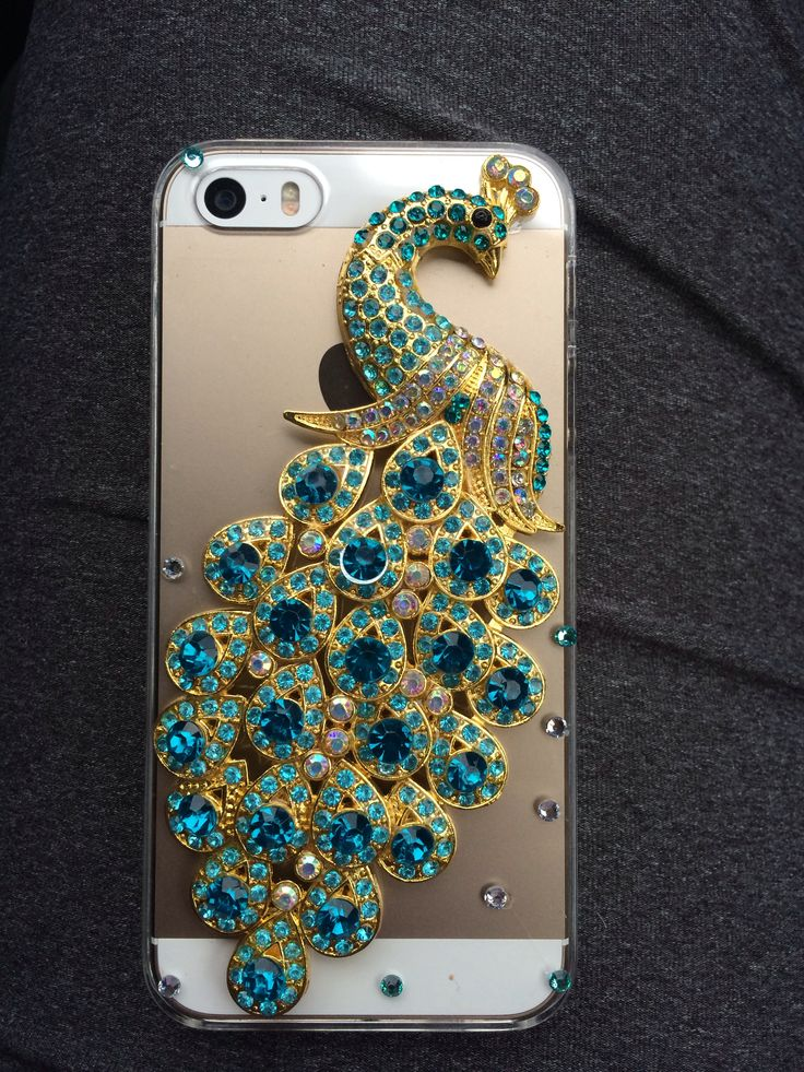 Peacock iPhone 5s case