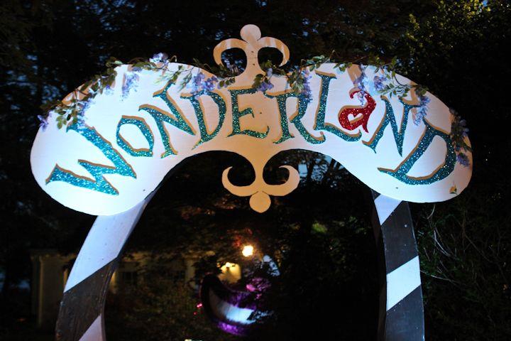 Dark alice in wonderland party this year