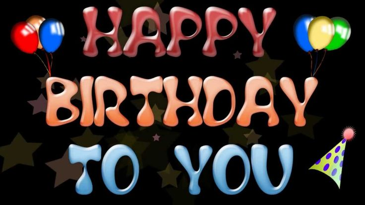 HAPPY BIRTHDAY TO YOU - Happy Birthday song - happy bday song