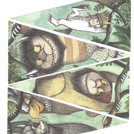 Where the Wild Things Are PDF pennant banner