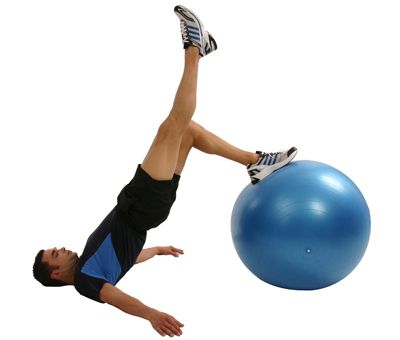 die power Übung für Ihren unteren Rücken und Beine Beanspruchte Muskulatur: Gesäß (M. gluteus maximus), untere Rückenmuskulatur (Musculus erector spinae)