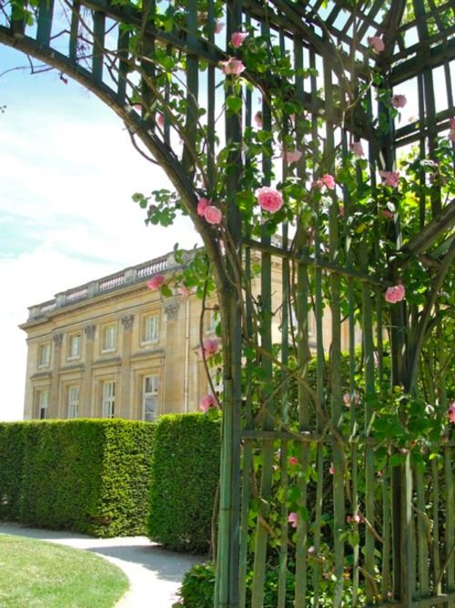 back view of Le Petit Trianon