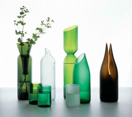 DIY cut bottles