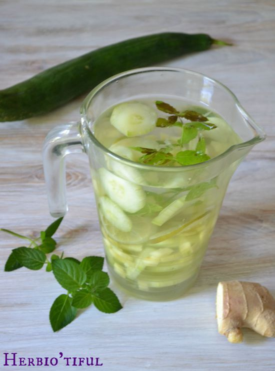 Recette eau de Sassy - Eau infusée pour favoriser la digestion, la détox de l'organisme et la perte de poids - Recette naturelle santé.