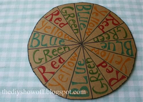 Lawn Twister - fun for Labor Day picnic! - DIY Show Off ™ - DIY Decorating and Home Improvement Blog