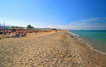 crete rethymno - beach