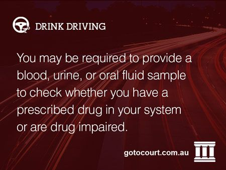 Under the Road Traffic Act 1974, it is a criminal offence to drive a motor vehicle whilst impaired by drugs or with a prescribed illicit drug in your blood.  In certain circumstances, police officers in Western Australia can require you to take part in a preliminary oral fluid test.  Read more: Drug Testing in Western Australia, Link: https://www.gotocourt.com.au/drink-driving/wa/drug-testing/