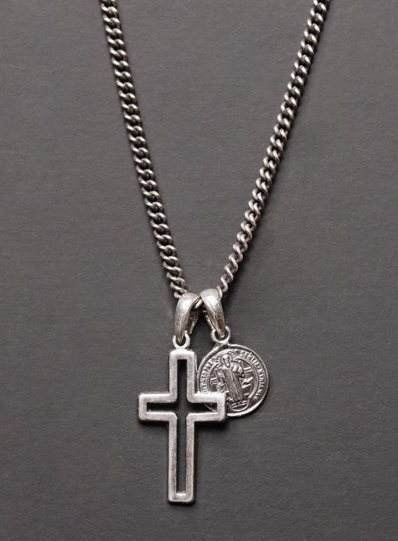 Cross Pendant Hallmark Feature Solid Silver Handmade